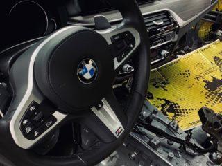 Шумоизоляция BMW