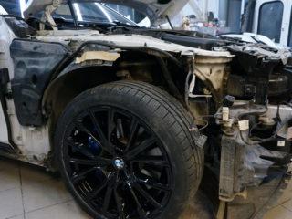 Кузовной ремонт бмв