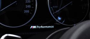 M performance на панели