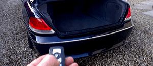багажник с ключа бмв