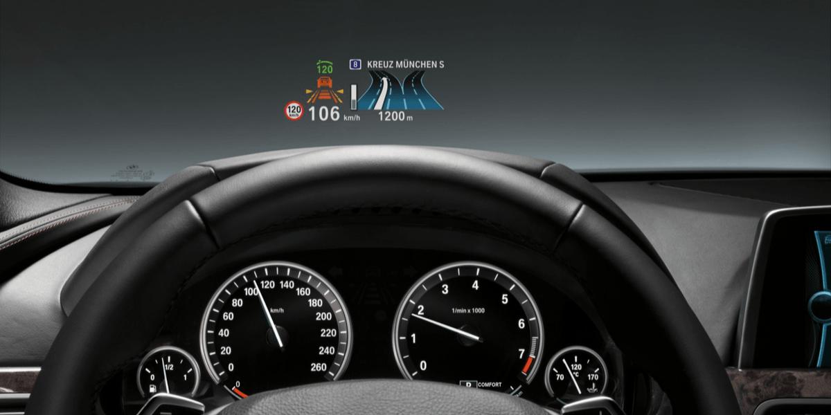 HUD BMW